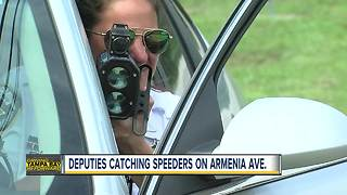 Deputies to tackle speeding drivers on Armenia Avenue after several complaints - Video