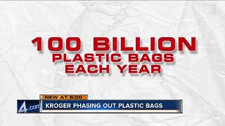 Kroger phasing plastic bags out of all stores