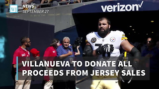 Villanueva To Donate All Proceeds From Jersey Sales To Nonprofit Military Groups - Video