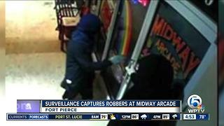 Midway Arcade robbery suspects sought in St. Lucie County - Video