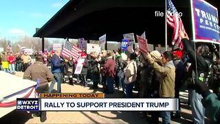 Rally to support President Trump happening Monday - Video