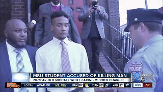 Morgan student charged with stabbing developer to death - Video