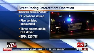 BPD continues street racing enforcement operations