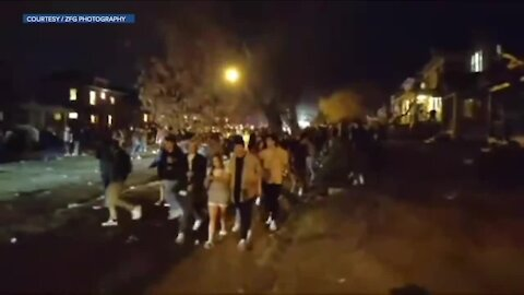 """""""There is no excuse for this conduct:"""" Officers hurt, property damaged at rowdy party in Boulder"""
