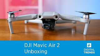 What's inside of the DJI Mavic Air 2 Fly More Combo? | Unboxing
