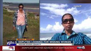 Woman missing in Indian River County