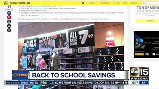 Best back-to-school deals in the Valley - Video