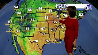 Warm Memorial Day ahead with more storms possible in the mountains - Video