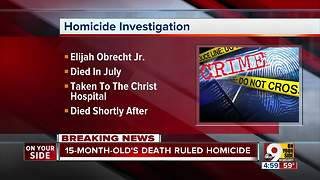 Cincinnati Police ask for help with infant homicide case - Video