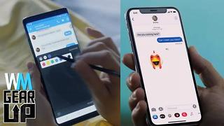 iPhone X VS Samsung Galaxy Note 8 - Gear Up^ - Video