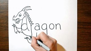 My word! – outside-the-box artist turns everyday words into sketches of the subjects they describe - Video