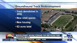 Redevelopment moving forward for Greyhound Park - Video