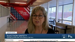Election safety: Keeping voters and vote safe at the poll