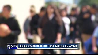 Boise State researchers tackle bullying - Video