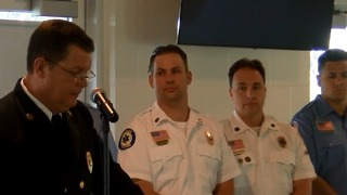 First responder honored - Video