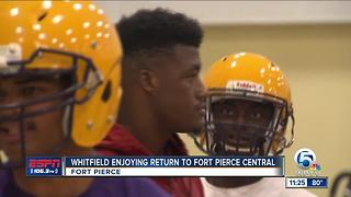 Ft. Pierce Central Football Team Begins Practices - Video