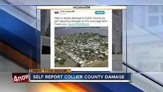 Self report Collier County damage after Hurricane Irma - Video