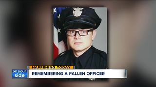 One year later: Fallen Cleveland policeman David Fahey remembered - Video