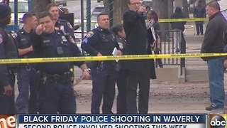 Police-involved shooting in Waverly