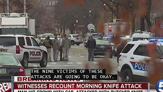 Tara Molina talks to witnesses of Ohio State attack - Video