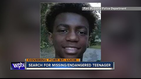 Search for missing/endangered teenager