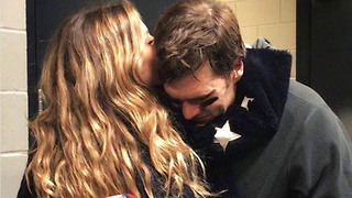 "Tom Brady's Wife Gisele PISSED at Fans Accusing Her of Saying Pats ""Let"" the Eagles Win - Video"