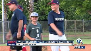 West Boynton Little League Looking To Make Run - Video