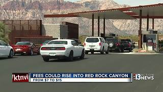 Public input wanted on Red Rock Canyon entry fee - Video