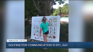 Annual Golf Outing with Communication is Key, AAC