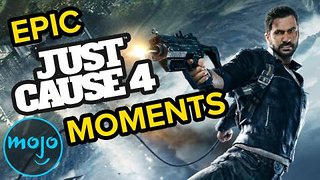 Top 10 Most Epic Just Cause 4 Moments - Video