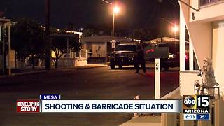 Man dead after Mesa officer-involved shooting - Video