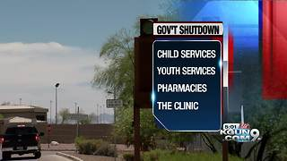 Davis-Monthan Air Force Base affected by shutdown - Video