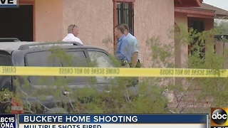 Burglar makes his way inside home, gets shot