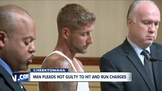 Cheektowaga man charged in hit and run that critically injured bicyclist - Video