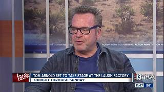 Tom Arnold takes the stage at the Laugh Factory - Video
