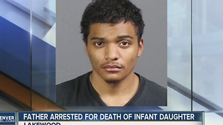 Father arrested for death of infant daughter - Video