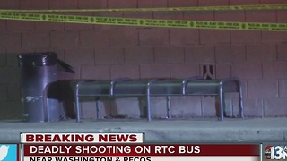 Man dies after being shot on city bus - Video