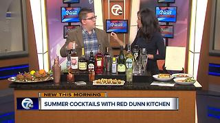 Summer cocktails from Detroit's Red Dunn Kitchen
