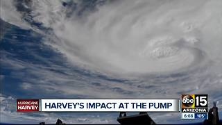 Hurricane Harvey could increase gas prices - Video