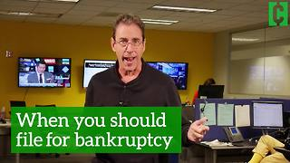When you should file for bankruptcy - Video