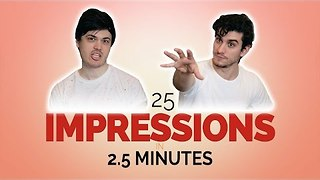 Comic Duo Impress With Inch-Perfect Impressions - Video