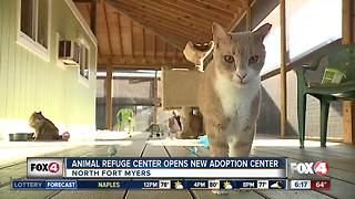Animal refuge center opens new adoption center - Video