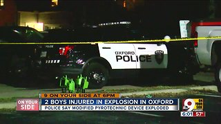 2 boys injured in Oxford explosion