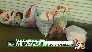 Airbnb nightmare: Ohio man's home trashed by renters - Video