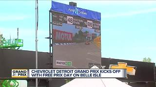 Chevrolet Detroit Grand Prix kicks off with free prix day on Belle isle