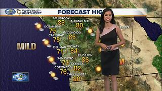 10News Pinpoint Weather August 7, 2017