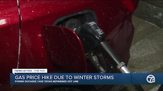 Winter storm shutdowns, rising oil prices driving higher gas prices