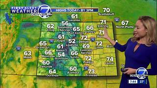 Unseasonably Warm Weather through Monday - Video