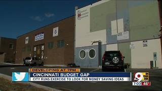 City officials look for ways to cut budget gap - Video