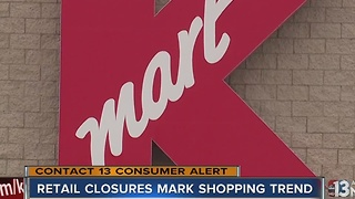 Macy's, Kmart closures in valley signalling trend - Video